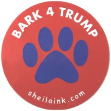 Bark 4 Trump Decal
