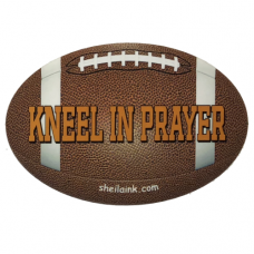 Kneel In Prayer Decal