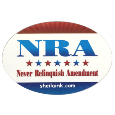 Never Relinquish Amendment Decal