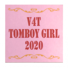 V4T Tomboy Girl Decal